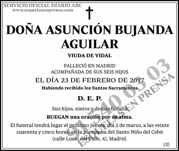 Asunción Bujanda Aguilar